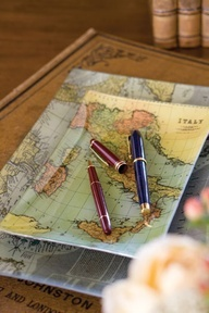Upcycled Map Trays