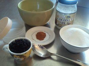 Coffee Scrub Ingredients
