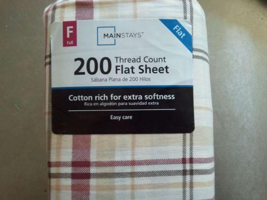 Wal-Mart Sheets!