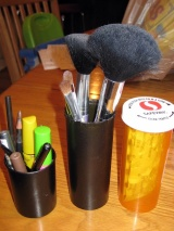 Make Up Brush or Pencil Holders