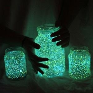 Mason Jar Galaxy