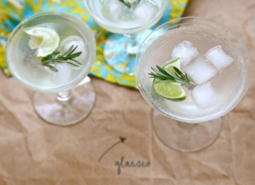 Rosemary Lime Cocktail