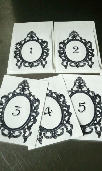 Framed Numbers