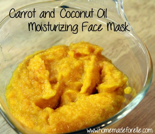 Carrot and Coconut Mask