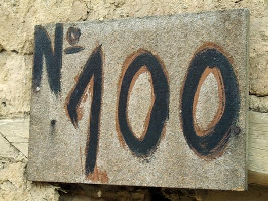 number-100