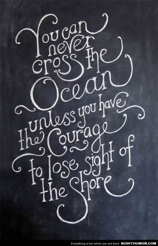 You Can Never Cross The Ocean