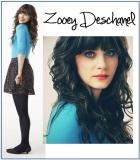 Zooey Deschanel Blue