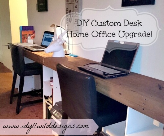DIY Custom Desk