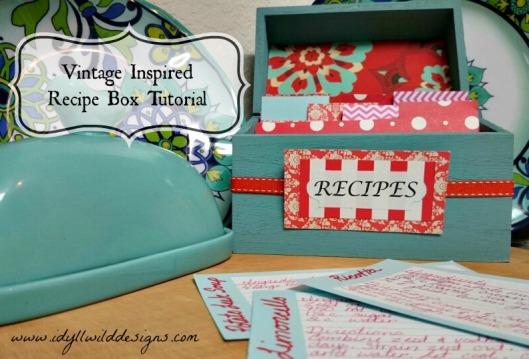 DIY Recipe Box Image