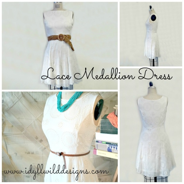 Lace Medallion Dress