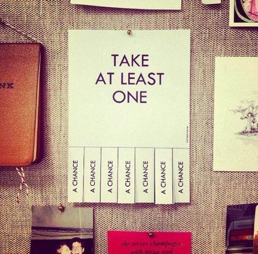 Take Atleast One