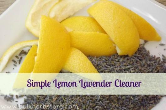 Lavender and Lemon Cleaner